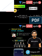 [DPP-4] - (JEE 2.0) -  Basic Mathematics - Inverse Trigonometric Functions - 18th May