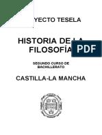 Programacion_Tesela_Historia_de_la_Filosofia_2_BACH_Castilla_La_Mancha