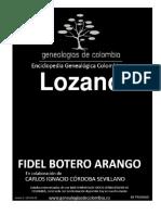 Geneaologia Colombiana Lozano