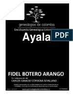 Geneaologia Colombiana Ayala