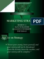 1 Strategic Marketing- Session 1 for Pgp 2010-12 Sem II
