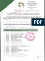 Admissibilites Mines Et Geologie 2019