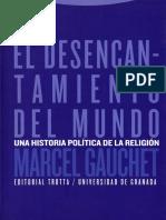 O desencantamento do mundo - Marcel Gauchet.pdf