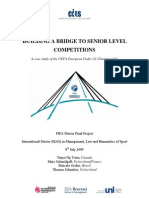 BUILDING A BRIDGE TO SENIOR LEVEL COMPETITIONS
