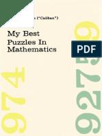 My Best Puzzles in Mathematics - Hubert Phillips