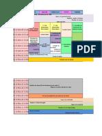 Un horario simple y practico para cursos o clases1