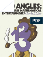 Odd Angles 33 Mathematical Entertainments - Charles F