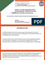 ESTRES Y CLIMA ORGANZACIONAL