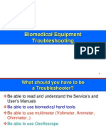 Medical Equipment Troubleshooting