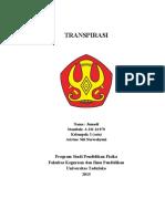 literatur TRANSPIRASI