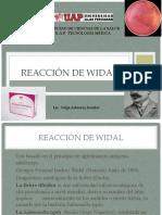 7.- Reacción de Widal