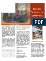 Political Violence in American History SYLLABUS