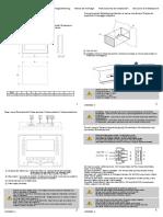 TDU 107 Core Installation Instruction 4189390004 UK