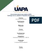 Universidad abierta para adultos UAPA 05-06-2020