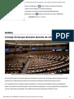 El Tiempo _ Mundo _ Consejo de Europa devuelve derecho de voto a Rusia _ El Periódico del Pueblo Oriental