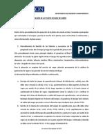 OPERACION Y FUNCIONAMIENTO DE PLANTA SECADO