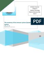 Immunology  report 1