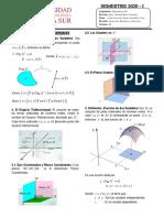 Guia 04 Funcion de Varias Variables, Limites y Continuidad