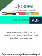 PresentaciónTaller SocializaTIC