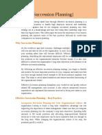 27 - Effective Succession Planning