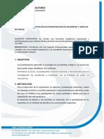 Cotización Curso Investigación de Inc. AMV Consultores