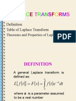 Laplace Transform (Part 1)