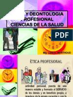 1er. PPT Etica y Deontologia Profesional