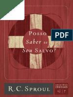 7_Posso_Saber_se_Sou_Salvo_Questões_Cruciais_7_R_C_Sproul