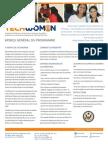 TechWomen French Flier
