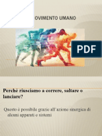 IL movimento umano - Pierfrancesco Vazzano.pptx