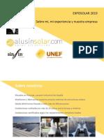 Presentación Alusin Solar