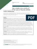 In vitro anti-Herpes simplex virus activity_Extra sum of square F test
