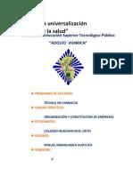 ESTUDIO DEL MERCADO SEMANA 9