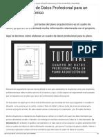 Tutorial_ Cuadro de Datos Profesional para un Plano Arquitectónico _ Arquinétpolis