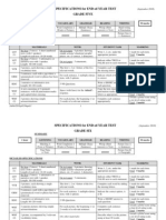 Specifications for End-Of-year Test (September 2010)