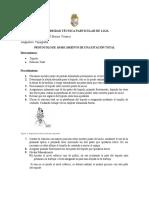 Protocolo de Estacionamiento de estación total