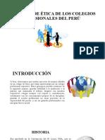 LOS CÓDIGO DE ÉTICA DE LOS COLEGIOS.pptx