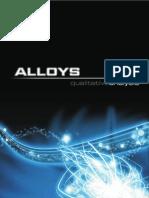 Analysis Of Alloys