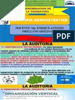 SEMANA 03 DE LA ASIGNATURA DE AUDITORIA ADMINISTRATIVA 2020 - I