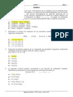 EXAMEN  QUÍMICA CPU UNAMBA 2015-II