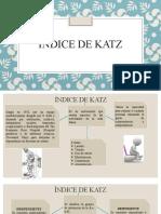 ÍNDICE DE KATZ-BARTHEL
