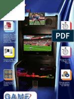 Game Station Cabinet Brochure