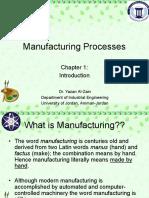 Manufacturing Ch.1