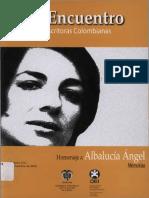 III Encuentro de escritoras colombianas. Homenaje a Alba Lucía Ángel