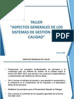 ASPECTOS GENERALES DE LOS SGC