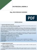 SEMANA 7. DIAPOSITIVAS DERECHO PROCESAL LABORAL II