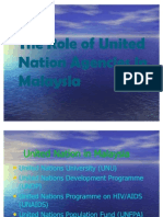 Role of United Nations&UNDP muet presentation