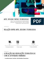 Aula - Arte^J design e novas tecnologias