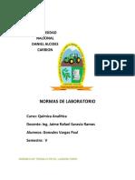 NORMAS DE LABORATORIO