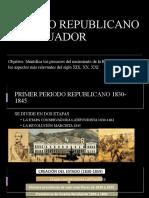 PERIODO REPUBLICANO DEL ECUADOR